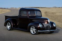 Granddad's 1941 Ford Truck Might Embarrass Your Muscle Car 1941 ford truck front passenger side - Provided by Hotrod