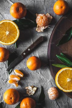 Citrus fruits. Healthy Eating by OS  on @creativemarket