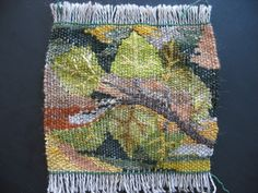 Tapestry by Mountain Weaver.. Image of loom on Flickr site
