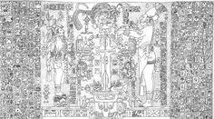 Maya Art, Statue, Paper Cutting, Temple, City Photo, History, Prints, Honduras, Joseph