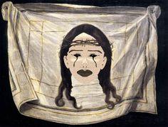 The veil of St. Saveria