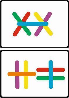 Autism Activities, Montessori Activities, Motor Activities, Infant Activities, Activities For Kids, Kindergarten Games, Preschool Math, Preschool Worksheets, Learning Through Play