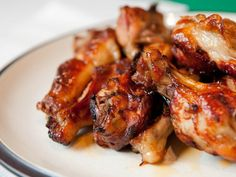 A recipe for Grilled Honey Barbecue Root Beer Wings made with root beer, ketchup, honey, vegetable oil, white vinegar, black pepper, garlic, Liquid