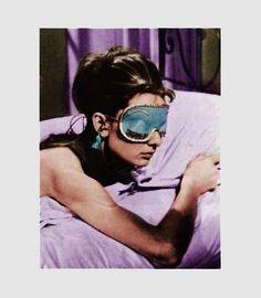 Breakfast at Tiffany's sleep mask
