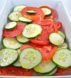 Simple Summer Salad recipe from Food52 #summer  #food #recipes #lunch #dinner #breakfast #easy