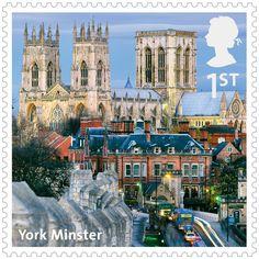 UK A-Z Stamps: York Minster