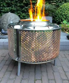 Outdoors fire box