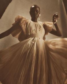 """Danielle Frankel on Instagram: """"@gracebol wears Blythe, pleated and hand dyed rust foggy organza gown now available for pre-order at daniellefrankelstudio.com…"""""""
