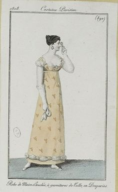 via Flickr Costume Parisien 1808
