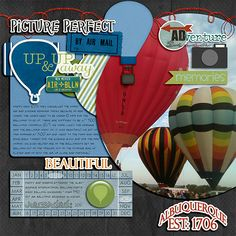 Hot Air Balloon Festival - Scrapbook.com