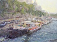 Visting Paris - by Brent Jensen