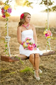 Preppy romantic wedding style, floral design by PANACEA event floral design as featured on Wedding Chicks: http://www.weddingchicks.com/2013/04/10/vintage-vineyard-wedding-ideas-2/