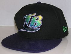 Tampa Bay Devil Rays MLB Baseball New Era 59Fifty Old Logo Fitted Size 7 1/ 4 #NewEra #TampaBayDevilRays Old Logo, New Era 59fifty, Hats For Sale, Tampa Bay, Devil, Mlb, Baseball, Fitness, Shopping