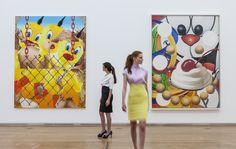 Jeff Koons The Painter - Ausstellungsansicht © Schirn Kunsthalle Frankfurt, Foto: Norbert Miguletz