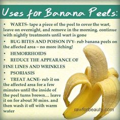 Fitness ideas for moms. Whenever it relates to simple health and fitness work outs, you don't always have to venture to the gym to achieve the full effects of working out. You are able to tone, shape, and revitalize your body in a few basic steps. Banana Peel Uses, Banana Peels, Poison Ivy Remedies, The Whoot, Back Pain Remedies, Chemical Peel, Burn Belly Fat, How To Treat Acne, Crunches