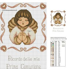 quilting like crazy Cross Stitch Angels, Just Cross Stitch, Cross Stitch Baby, Cross Stitching, Cross Stitch Embroidery, Cross Stitch Patterns, Cross Stitch Christmas Ornaments, Christmas Cross, Minnie Baby