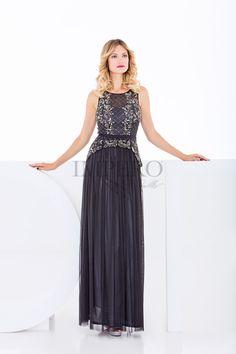 ffda60e13bf1 SLD 11694  abiti  dress  wedding  matrimonio  cerimonia  party  event   damigelle  nero  black