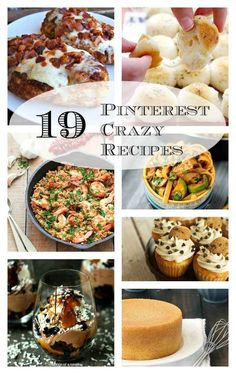 19 Recipes That Have Gone CRAZY On Pinterest - so you know they're GOOD!