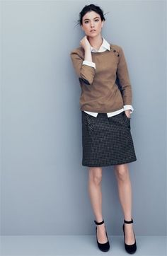 Great fall wear-to-work outfit #nordstrom