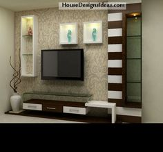 TV Stand Unit Cabinet Ideas Latest 2020 - House Designs Living Room Tv Unit Designs, Living Design, Bed Furniture Design, Wall Unit Designs, Living Room Designs, Tv Wall Design, Tv Room Design, Lcd Wall Design, Wall Tv Unit Design