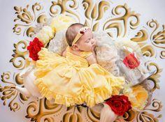 La fotografa di neonati Karen Marie ha unito la sua grande passione al suo amore per le favole Disney