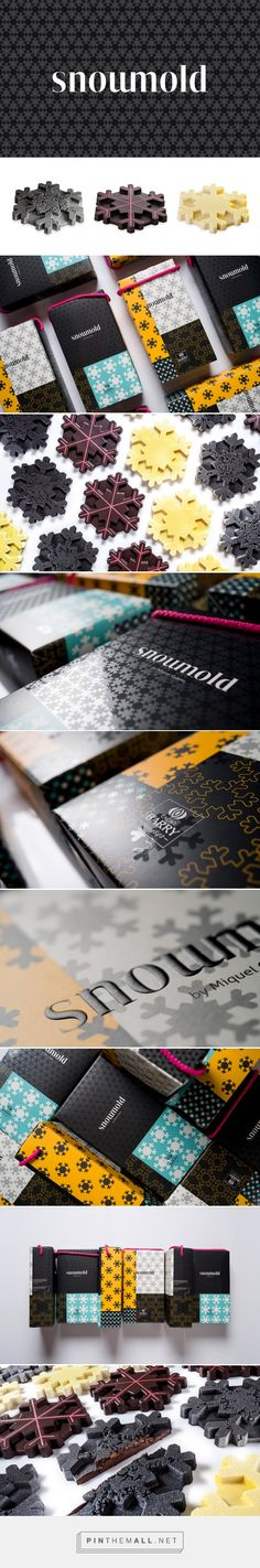 Snowmold Chocolates Packaging by Zoo Studio | Fivestar Branding Agency – Design and Branding Agency & Curated Inspiration Gallery