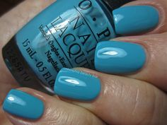 OPI Can't Find My Czechbook swatch from the new Euro Centrale Collection for Spring/Summer 2013