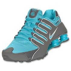 best cheap 0781b 08fef Womens Nike Shox NZ Dark GreyPure PlatinumTurquoise Blue Kleider,  Günstige Nike