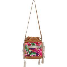 Marie Martens Embroidered Ibiza Shoulder Bag