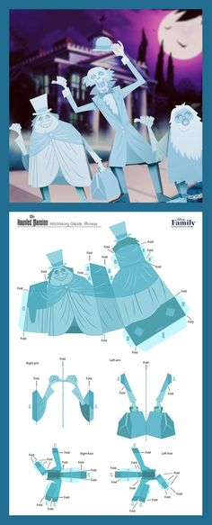Future home school art project to celebrate 50 years of the Haunted Mansion! Disney Halloween, Halloween 2020, Holidays Halloween, Halloween Crafts, Halloween Party, Disney Christmas, Disney Home Decor, Disney Diy, Disney Crafts