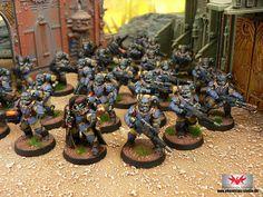 Warhammer 40K - Militarum Tempestus Scions - PHANTASOS STUDIO - Projektfotos unter: https://www.flickr.com/photos/phantasosspiele/sets/72157655210936002