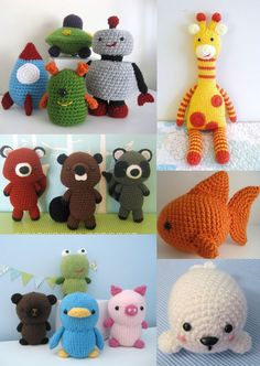 Crocheted animals!