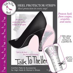 Braza Heel Protector Strips - Prevent unsightly looking heels caused by mud stains, dents, nicks, scrapes and scratches.