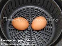 Ovos Cozidos e Ovos Quentes na AirFryer - Fritadeira sem Óleo - AirFryer