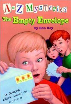 The Empty Envelope (A to Z Mysteries Series #5) by Ron Roy, John Steven Gurney (Illustrator)
