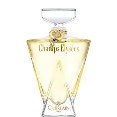 Pour la parisienne chic et avant-gardiste, Champs-Élysées est une fragrance d'intense séduction. Florale et gaie, elle célèbre le lilas et le mimosa. Son flacon silhouette exprime la beauté du corps de la femme. Surmonté d'un bouchon au front large, le verre poli s'étire et sublime les rondeurs évocatrices de la femme. Cette plénitude, belle et entière, s'ancre solidement sur un triangle de vie. Entre la pyramide de Pei et l'Arc de Triomphe, il évoque la célèbre perspective des Cham...