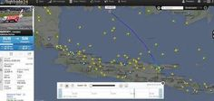 Pujangga Liar: Ini gambar Posisi Terakhir AirAsia QZ8501 yang Ter...