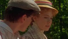 """When he drove Anne home and they were finally becoming friends. 