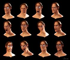★ Find more at http://www.pinterest.com/competing/ is quite simply the best animation program in the world. #animation #facial #expressions