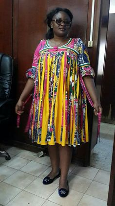 Hot & Sexy Ankara Style Dresses For a Party, Wedding Guest, Evening or Cocktail. Shweshwe Dresses, African Maxi Dresses, African Dresses For Women, African Attire, African Wear, African Women, Ankara Long Gown Styles, Ankara Styles, Ankara Tops
