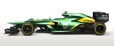 Judging from the studio shots and two practice sessions, I think the Caterham F1 team have one of the best looking cars on the grid this season. This is my proposal for the race trim come Australia :)