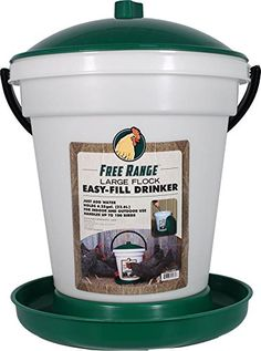 Outdoor Fountain Accessories - Harris Farms EZ Fill Poultry Drinker 625 Gallon * Click on the image for additional details. (This is an Amazon affiliate link)