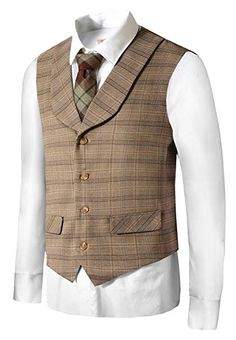 840eaa86ce3 Men s Vintage Inspired Vests- 1920s