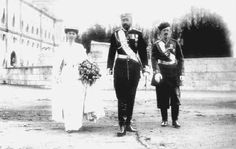 Grand Duchess Olga on her wedding day to Prince Peter of Oldenburg, 1901
