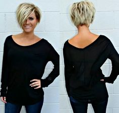 ♥ ♥ ♥ ♥ ️ Short Hair Tutorials for 2019 ♥ ♥ ♥ ♥ ♥ - Top Trends Short Bobs Haircuts Look Sexy and Charming! New Haircuts, Short Bob Hairstyles, Cool Hairstyles, Easy Hairstyle, Hairstyle Ideas, Hair Dos, My Hair, Medium Hair Styles, Short Hair Styles