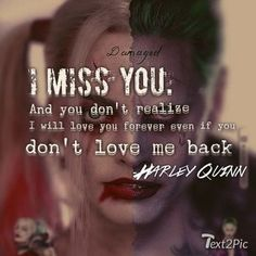 relationship stories Harley Q And Mr J Joker Missing Someone Quotes, Someone Special Quotes, Harley And Joker Love, Harley Quinn Et Le Joker, Harley Quinn Tattoo, Joker Joker, Harly Quinn Quotes, Harey Quinn, You Dont Love Me