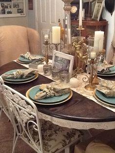 My Shabby Dining Room!