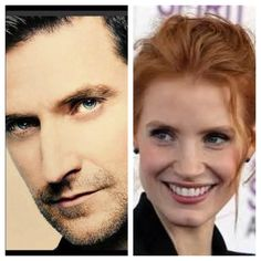 My picks for Matthew Clairmont and Diana Bishop: Richard Armitage and Jessica Chastain All Souls Trilogy by Deborah Harkness: A Discovery of Witches - Shadow of Night - The Book of Life