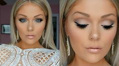 Wedding Makeup Ideas for Brides - Bridal Makeup Tutorial 2016 Wedding Makeup - Romantic make up ideas for the wedding - Natural and Airbrush techniques that look great with blue, green and brown eyes - rusti evening glow looks - https://www.thegoddess.com/wedding-makeup-for-brides