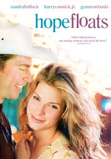 Hope Floats (1998)  Sandra Bullock, Harry Connick Jr, Gena Rowlands, Michael Pare and a very young Mae Whitman - directed by Forest Whitaker